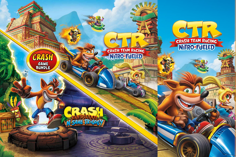 Crash Team Racing – Bandicoot 2pk Bundle